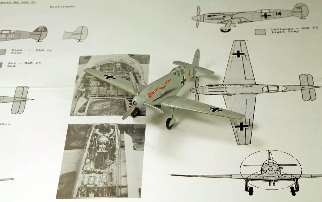 Messerschmitt Me 209 V4 (1939/41)   [1:72 - HUMA-Modell] Me_20912