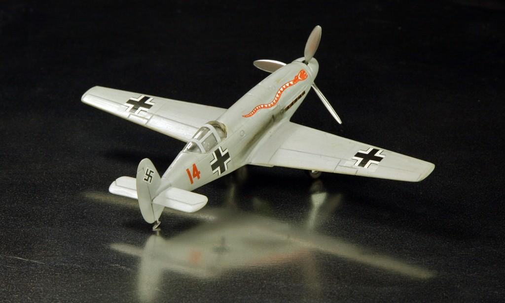 Messerschmitt Me 209 V4 (1939/41)   [1:72 - HUMA-Modell] Me_20913