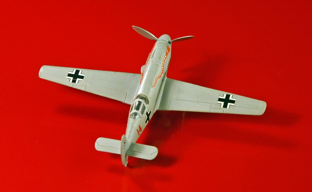 Messerschmitt Me 209 V4 (1939/41)   [1:72 - HUMA-Modell] Me_20915