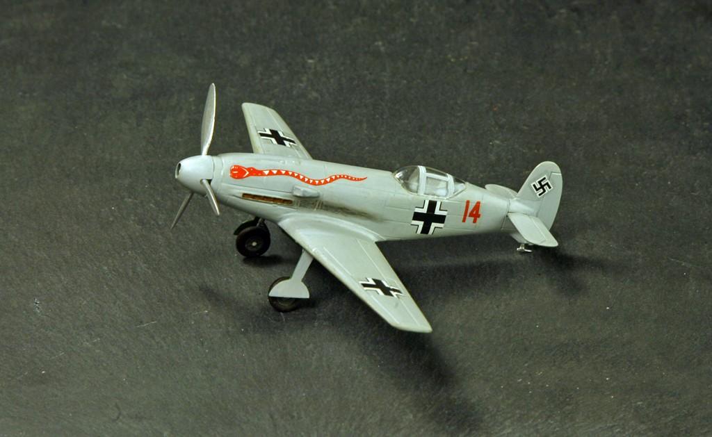 Messerschmitt Me 209 V4 (1939/41)   [1:72 - HUMA-Modell] Me_20918