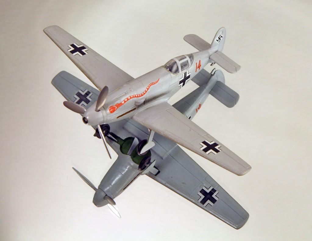 Messerschmitt Me 209 V4 (1939/41)   [1:72 - HUMA-Modell] Me_20920