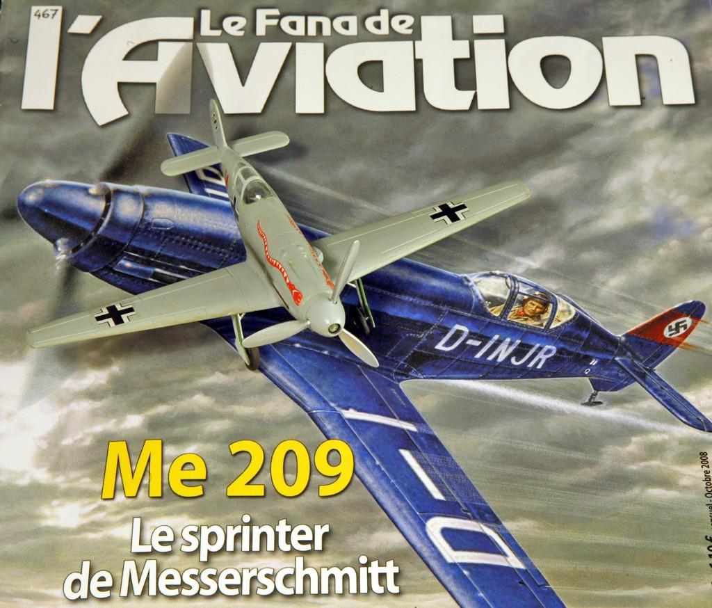Messerschmitt Me 209 V4 (1939/41)   [1:72 - HUMA-Modell] Me_20923