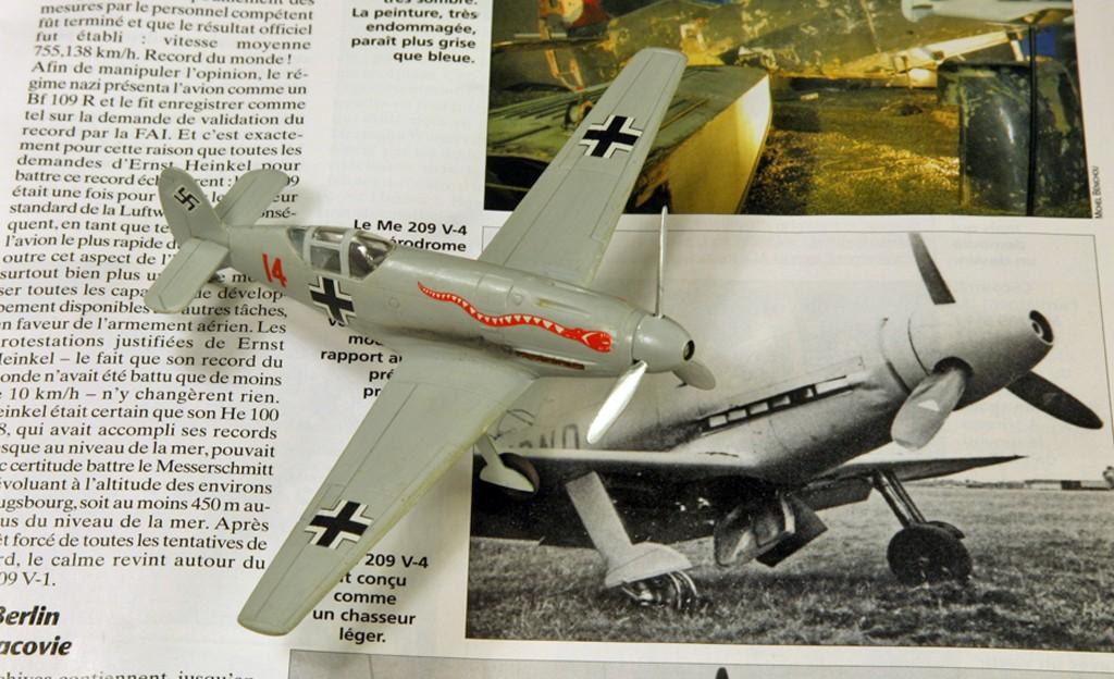 Messerschmitt Me 209 V4 (1939/41)   [1:72 - HUMA-Modell] Me_20924