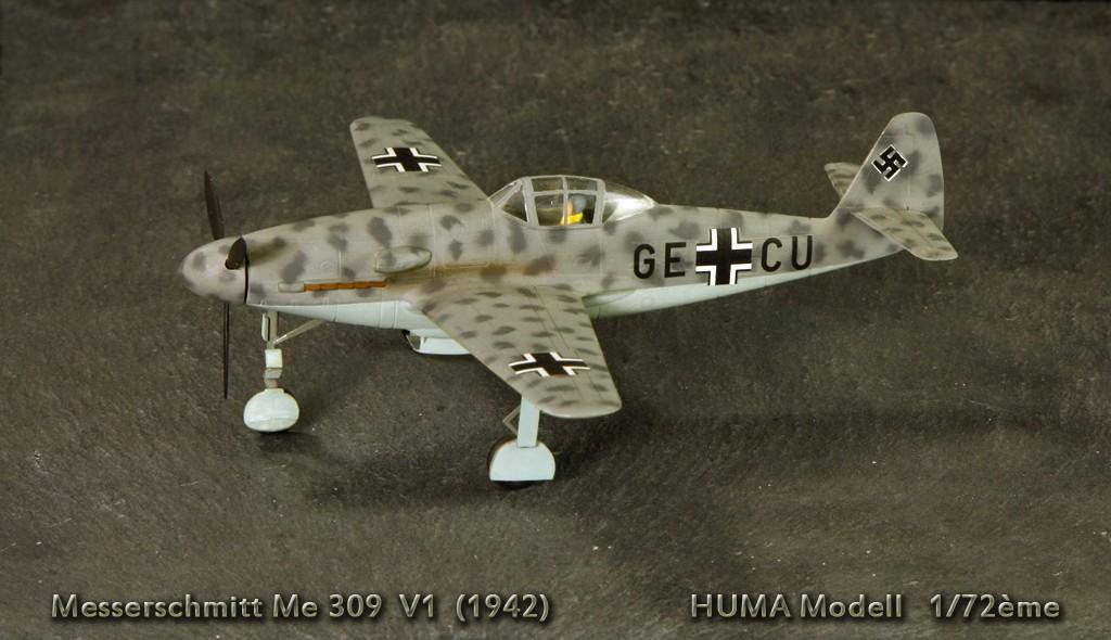 Messerschmitt Me 309 V1 (1942) [1:72 - HUMA-Modell] Me_30910