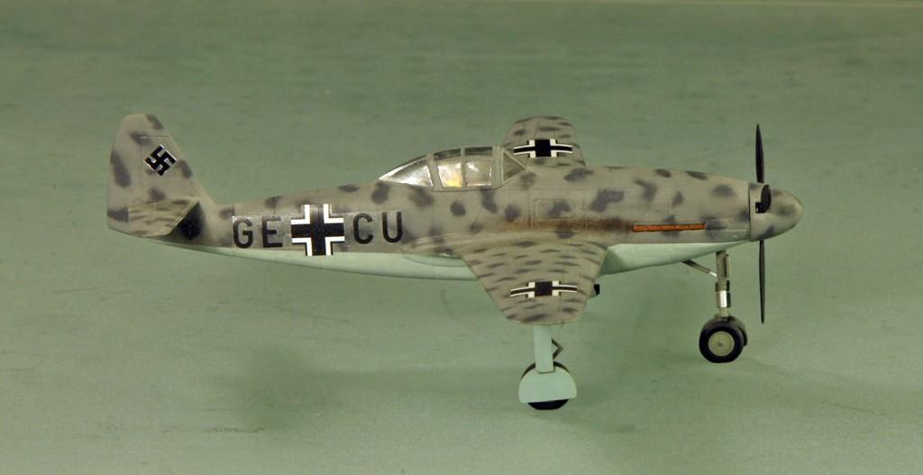 Messerschmitt Me 309 V1 (1942) [1:72 - HUMA-Modell] Me_30912