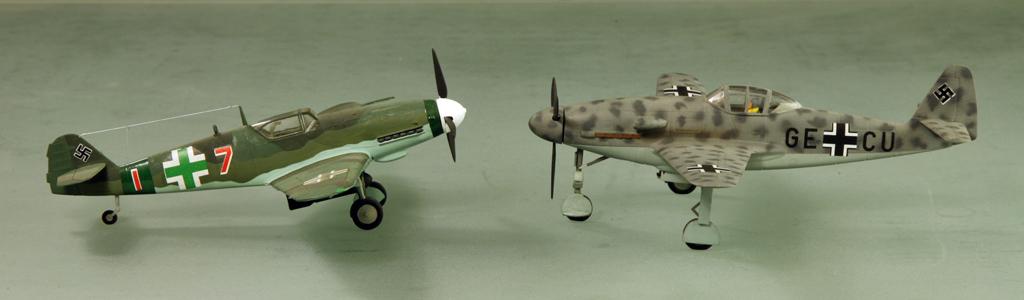 Messerschmitt Me 309 V1 (1942) [1:72 - HUMA-Modell] Me_30913