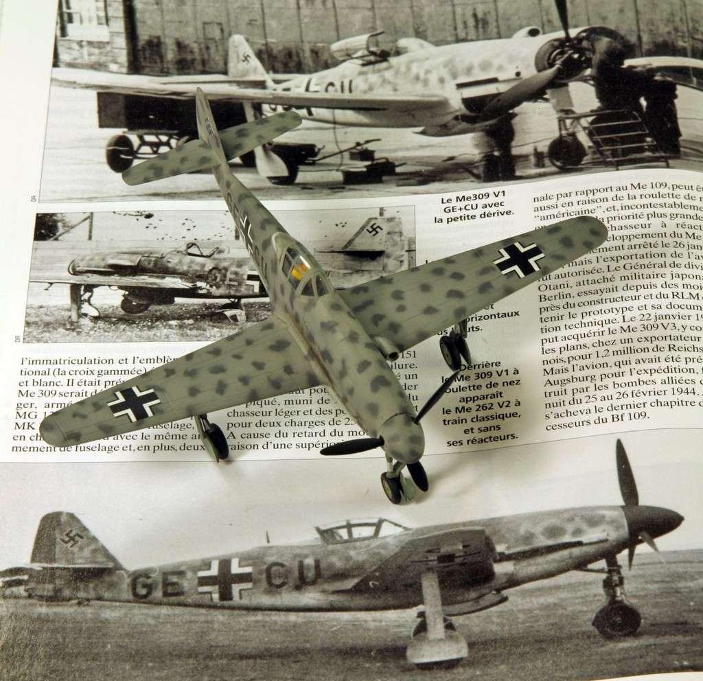 Messerschmitt Me 309 V1 (1942) [1:72 - HUMA-Modell] Me_30917