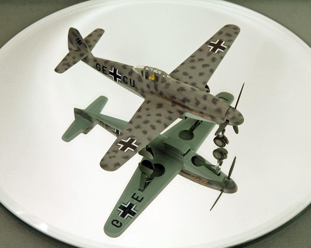 Messerschmitt Me 309 V1 (1942) [1:72 - HUMA-Modell] Me_30919
