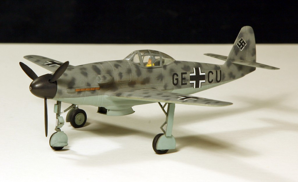 Messerschmitt Me 309 V1 (1942) [1:72 - HUMA-Modell] Me_30922