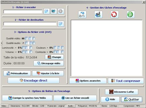 Tutoriel Pocket Divx Encoder ( sous titreur de video ) Pocket11