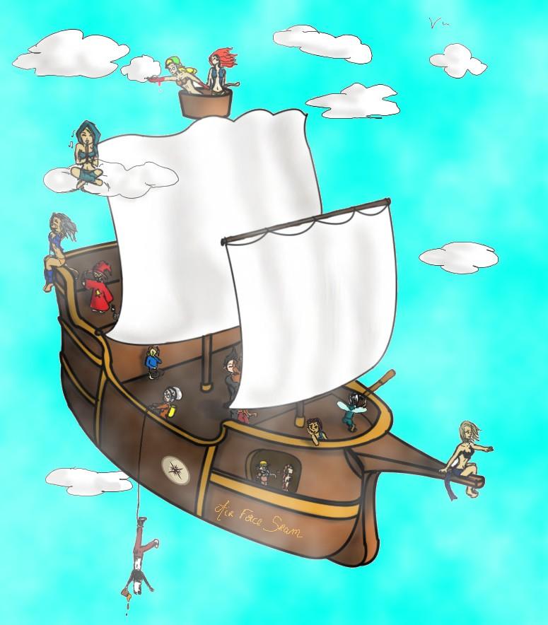 Voyage en bateau. Sans_t14
