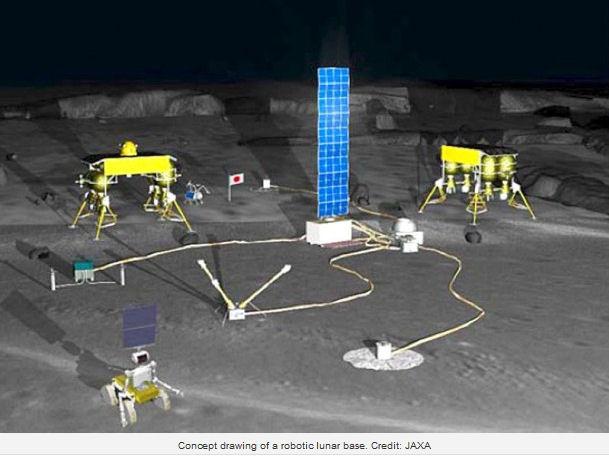 Japon : une base lunaire robotique en 2020 ? Moon-r10