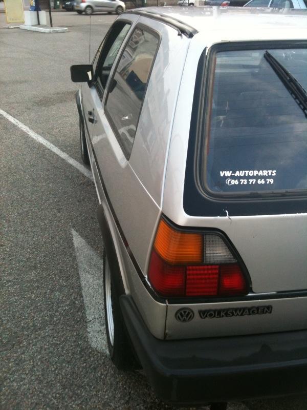 GTD grise open air '86 ... vw team limousin Photo113
