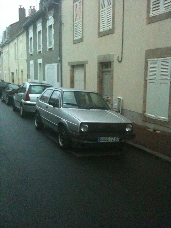 GTD grise open air '86 ... vw team limousin Photo910