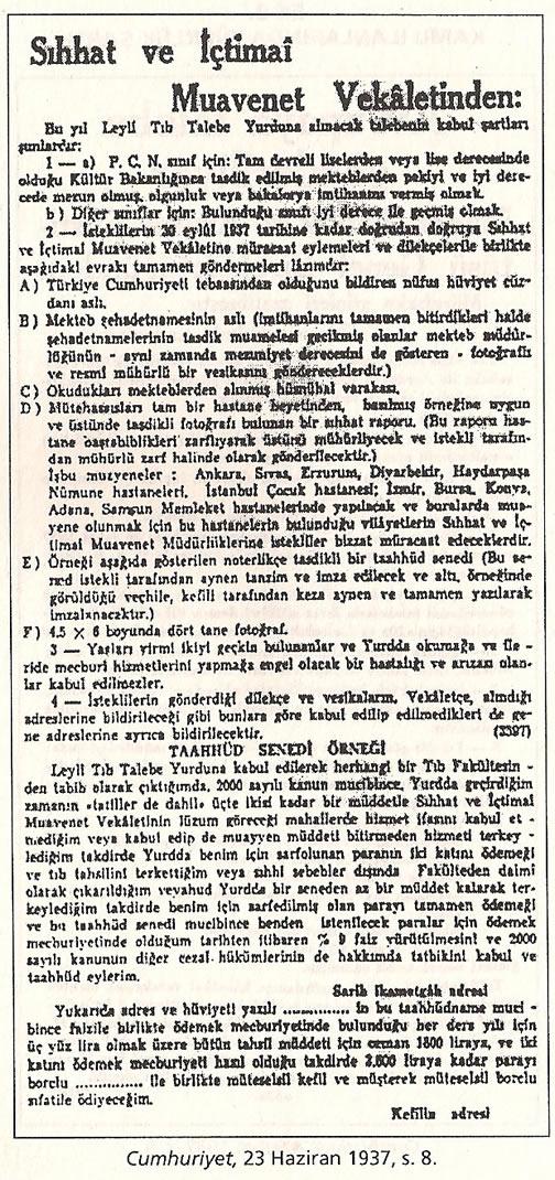 1936-1938 Döneminde Verilen Kamu İlanlarında Irk Şartı 0812-k11