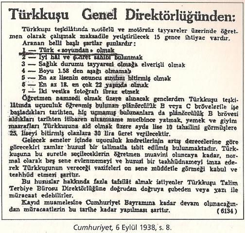 1936-1938 Döneminde Verilen Kamu İlanlarında Irk Şartı 0812-k17