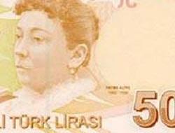 Yeni kağıt 50 lira üzerine Fatma Aliye nin resmi konuldu Fatmaa10