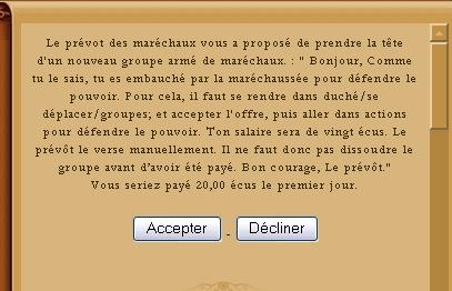° Chef maréchal: Guide ° 510