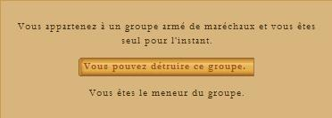 ° Chef maréchal: Guide ° Groupe10