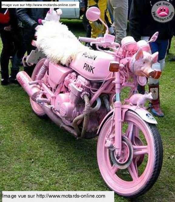 No limit à l'imagination pour les motos, Humour of course! 147610