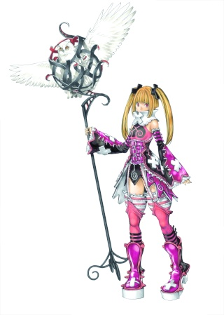 Takeshi Obata, character designer du prochain Castlevania Maria_10