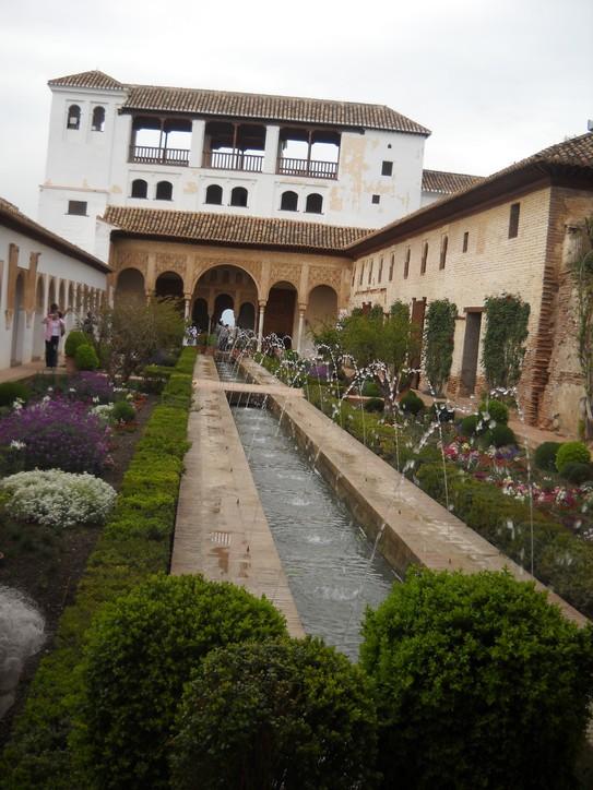 voyage en Espagne, avril 2010 Jardin10