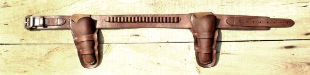 """Ensemble CAS holsters """"Old west"""" Comple12"""