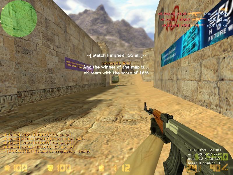 cK.team vs nRg Spale210