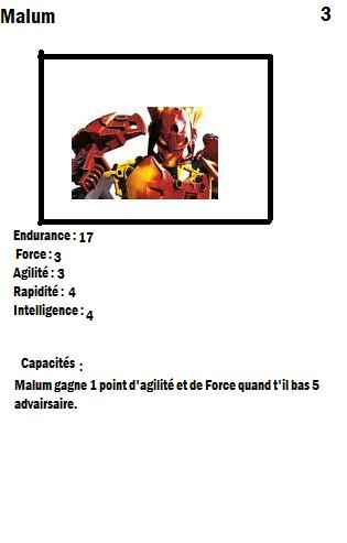 [Blog] Projet 2: BIONICLE Cards & HEROFACTORY Cards - Page 2 Malum10