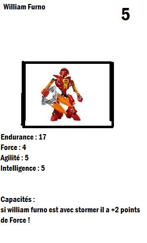 [Blog] Projet 2: BIONICLE Cards & HEROFACTORY Cards - Page 3 Willia10