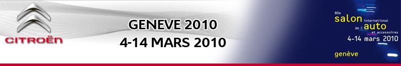 [SALON] GENEVE 2010 - Salon international de l'auto Citroa43