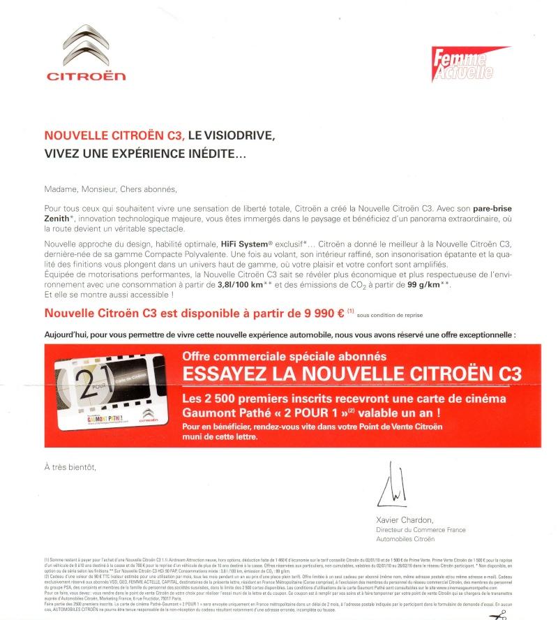 [Information] Citroen et l'offre cinema Gaumont 1 pour 2 Passep10