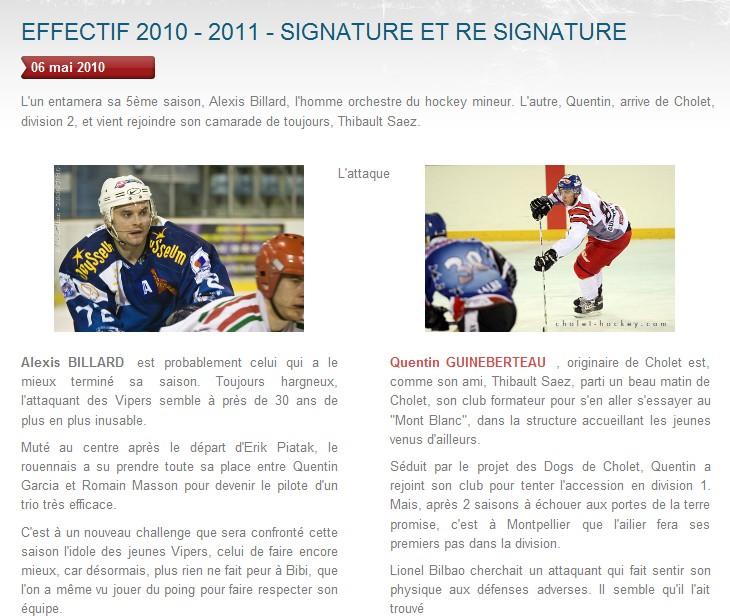 Transferts officiels des Vipers 2010-2011 Bibi10