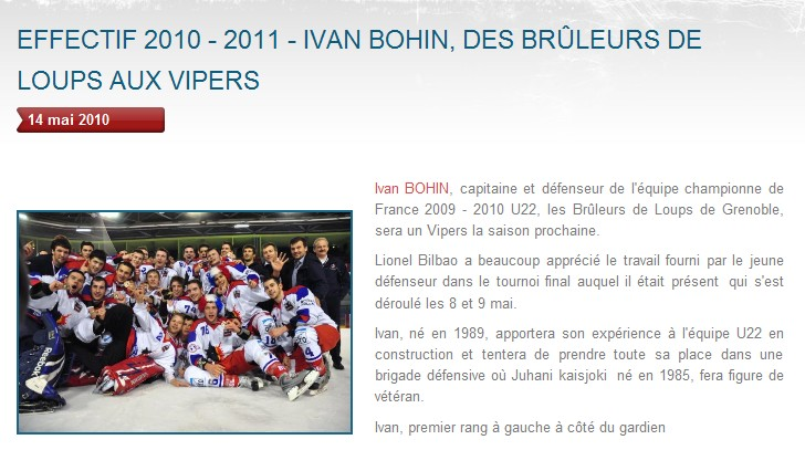 Transferts officiels des Vipers 2010-2011 Bohin10