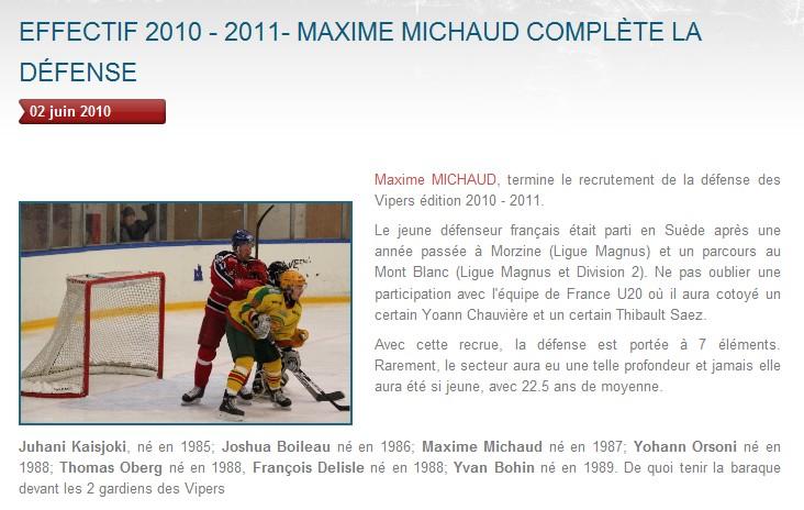 Transferts officiels des Vipers 2010-2011 Michau10