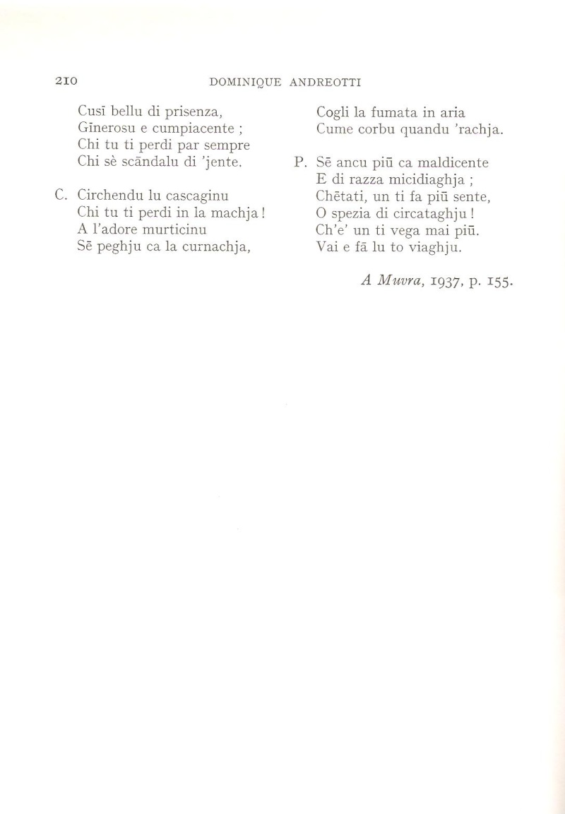 """Andreotti Dumenicu """"Minicale"""" Minic_14"""