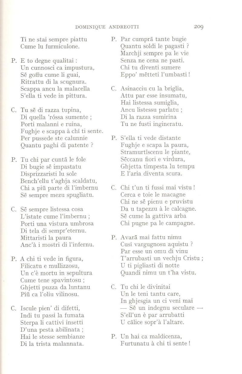 """Andreotti Dumenicu """"Minicale"""" Minic_15"""