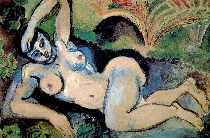 Henri Matisse  Bluenu10