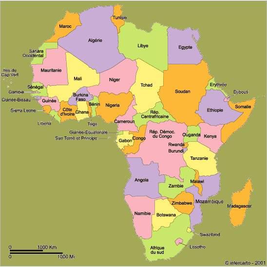 LC par pays: Afrique Carted10
