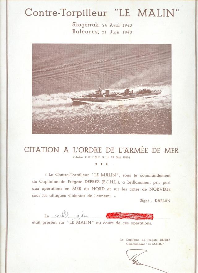 [Histoires et histoire] Contre-torpilleur Le Malin Ac16