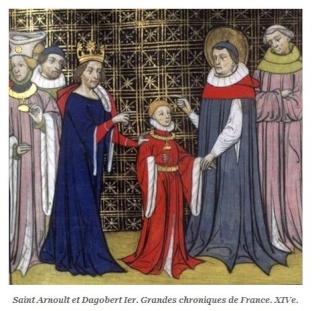 LA VIERGE MARIE A BOUXIERES AUX DAMES AU NORD DE NANCY EN LORRAINE-BERCEAU CAROLINGIENS-CAPETIENS après le FRANKENBOURG St_arn14