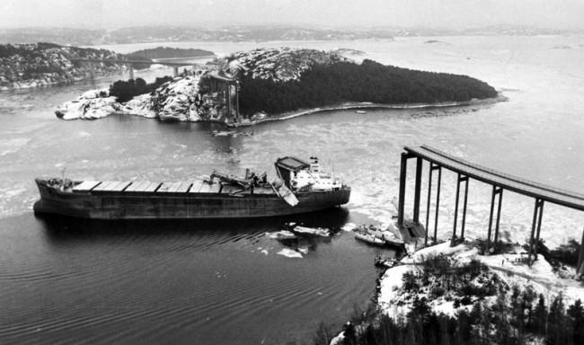 La catastrophe du pont de l'Almö en Suède (18 janvier 1980) 27372710