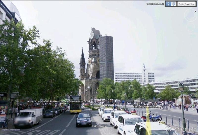 L'église Kaiser Wilhelm, Berlin - Allemagne Aglise11