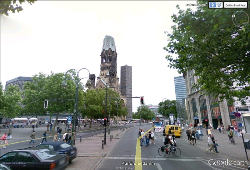 L'église Kaiser Wilhelm, Berlin - Allemagne Aglise12