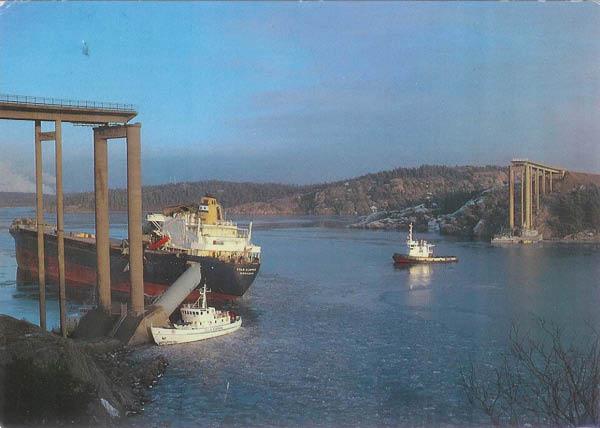 La catastrophe du pont de l'Almö en Suède (18 janvier 1980) Almabr10