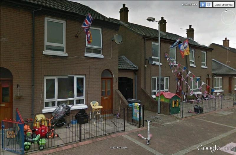 """[Royaume-Uni] - Les barrières de séparation de Belfast (""""Murs de la paix..."""") Cluan_11"""
