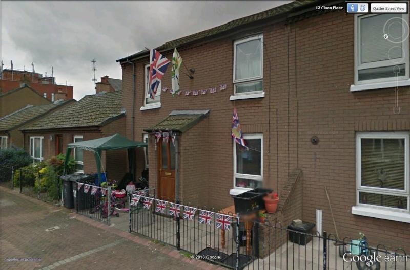 """[Royaume-Uni] - Les barrières de séparation de Belfast (""""Murs de la paix..."""") Cluan_12"""