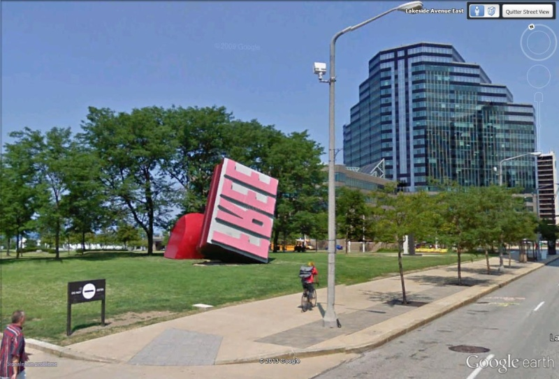 Tampon géant à Cleveland, Ohio - USA Free11