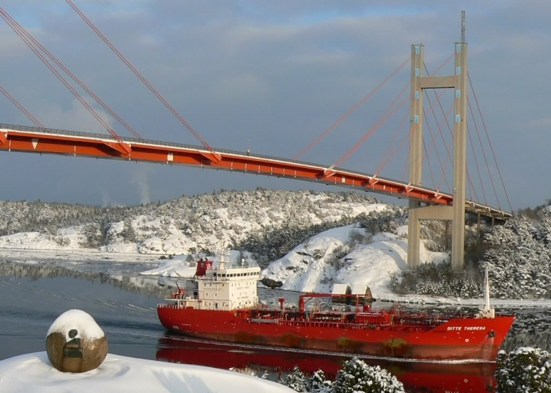 La catastrophe du pont de l'Almö en Suède (18 janvier 1980) P1060610