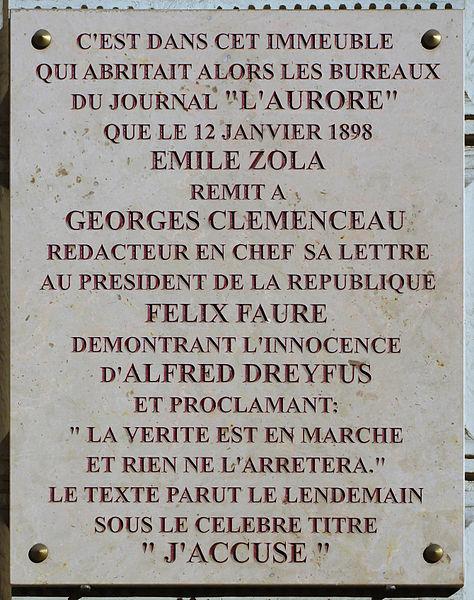 Siège du journal L'AURORE à Paris Paris_10